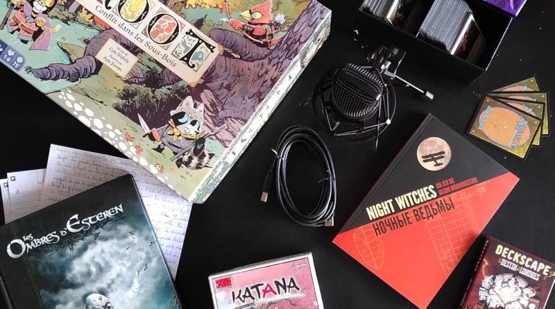 Podcast La Voix Ludique