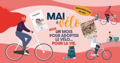 Mai à Vélo avec La Bourse à Dés